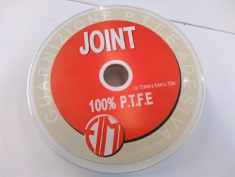 RT. MT.10 GUARNIZIONE PTFE JOINT MM 12x4